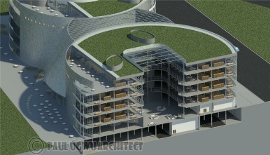 Taichung City Cultural Centre RevD 3D-2 - Rendering - -3D-_2